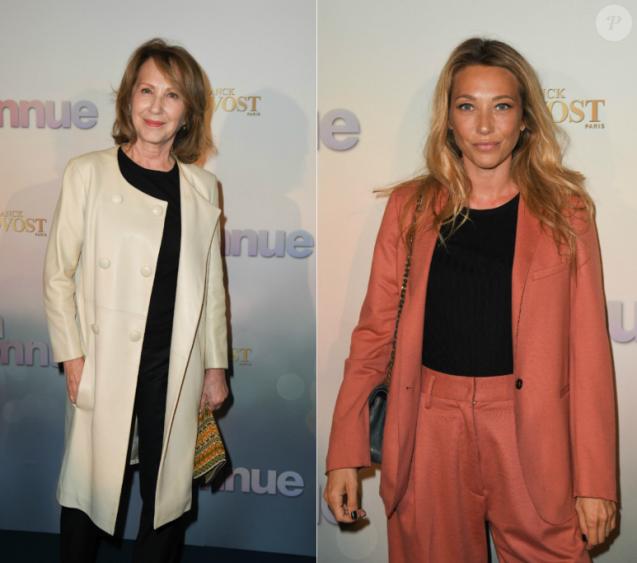"""Nathalie Baye et Laura Smet - Avant-première du film """"Mon Inconnue"""" au cinéma UGC Normandie à Paris le 1er avril 2019. © Coadic Guirec/Bestimage"""