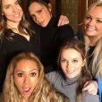 Les Spîce Girls se retrouvent à Londres, le 2 février 2018.