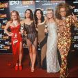 Les Spice Girls en 1997 aux Brit Awards.