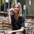 """Exclusif - Alexandra Rosenfeld (Miss France 2006 et Miss Europe 2006) lors de la soirée """"Kill The Duckface"""" pour le lancement en avant-première de Panza Paille dans la salle de réception La Cartonnerie à Paris, France, le 2 avril 2019. Panzani Food Service lance Panza Paille sur le marché de la restauration hors-foyer. Panza Paille est composée de blé et d'eau. Elle est donc entièrement biodégradable et compostable. """"En plus d'offrir un sirotage 100% naturel aux convives, elle s'affiche comme l'une des alternatives aux pailles en plastique les plus séduisantes en terme de prix, indique Panzani. Les pailles de 250 mm de long et de 7,4 mm de diamètre seront conditionnées dans des sachets de 60 pailles vendus 2,15 € HT, soit 0,036 € la paille."""" © Pierre Perusseau/Bestimage"""