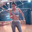 """Mercredi 28 novembre 2018, Iris Mittenaere pas tout à fait remise de sa blessure au dos, à quelques jours de la grande finale de """"Danse avec les stars 9"""" (TF1)."""