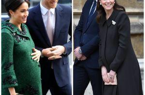 Meghan Markle et Kate Middleton mamans : leurs grossesses mois après mois