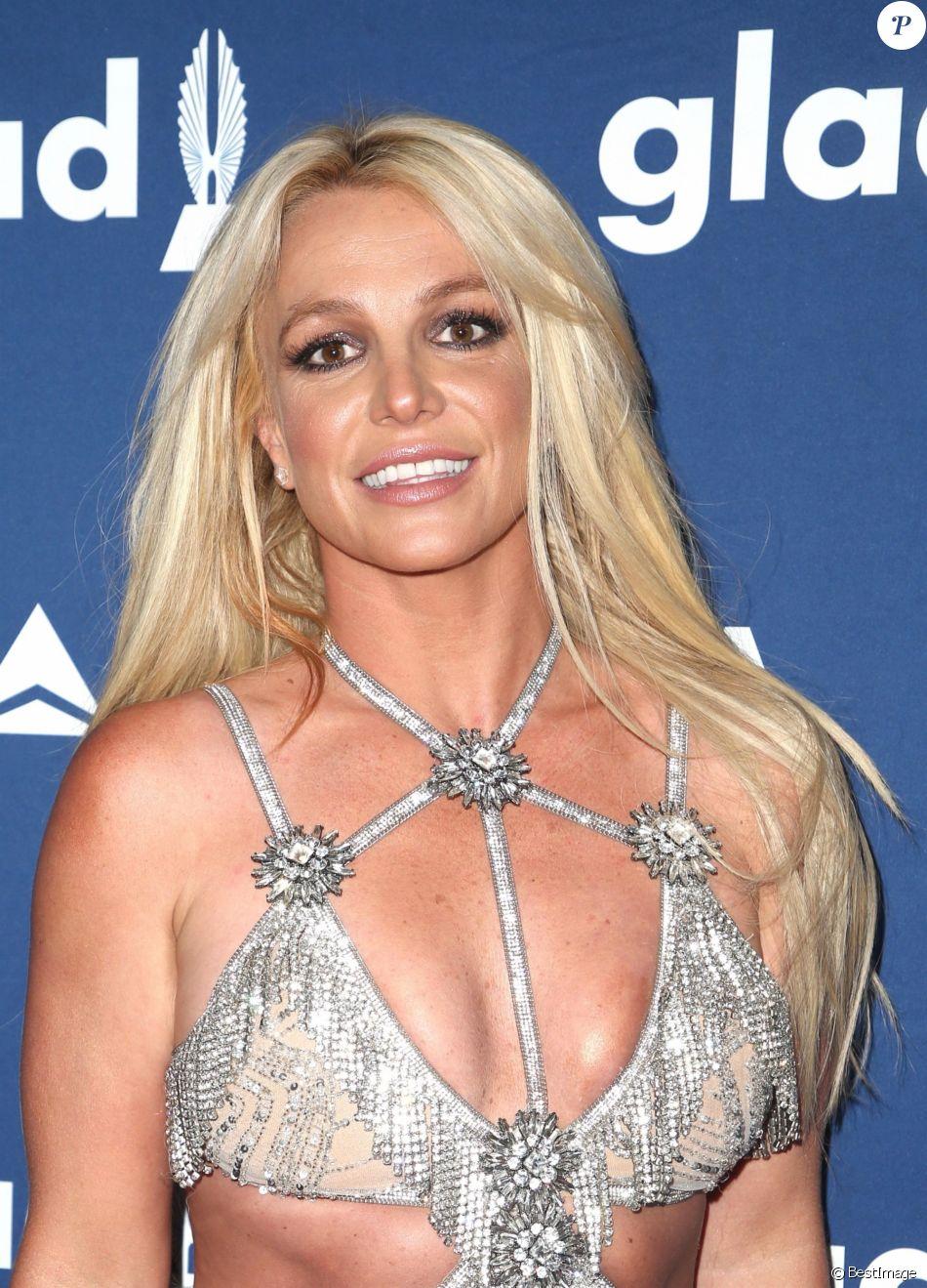 Britney Spears à la soirée GLAAD Media Awards Rising Stars à l'hôtel Beverly Hilton à Beverly Hills, le 12 avril 2018.