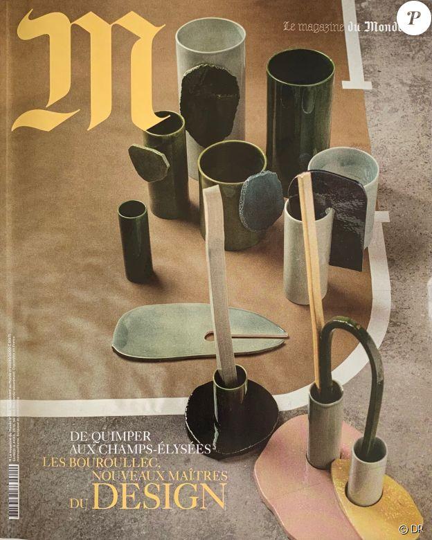 """M, le magazine du """"Monde"""", en kiosques le 6 avril 2019."""
