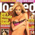 Jennifer Ellison super sexy en couverture de Loaded !