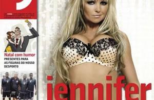 La craquante Jennifer Ellison vous présente... ses deux plus gros atouts !