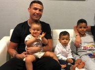 Cristiano Ronaldo : Son fils Mateo (1 an et demi) déjà très doué au foot !