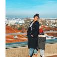 """Léa Djadja d'""""Incroyables Transformations"""" et son fils - Instagram, 15 février 2019"""