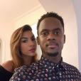 Léa Djadja et son mari Black M à Deauville - Intagram, 2 janvier 2019