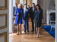 Brigitte Macron à l'Élysée, à l'hôpital, au stade... Première dame tout terrain