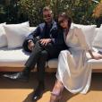 David et Victoria Beckham. Avril 2017.
