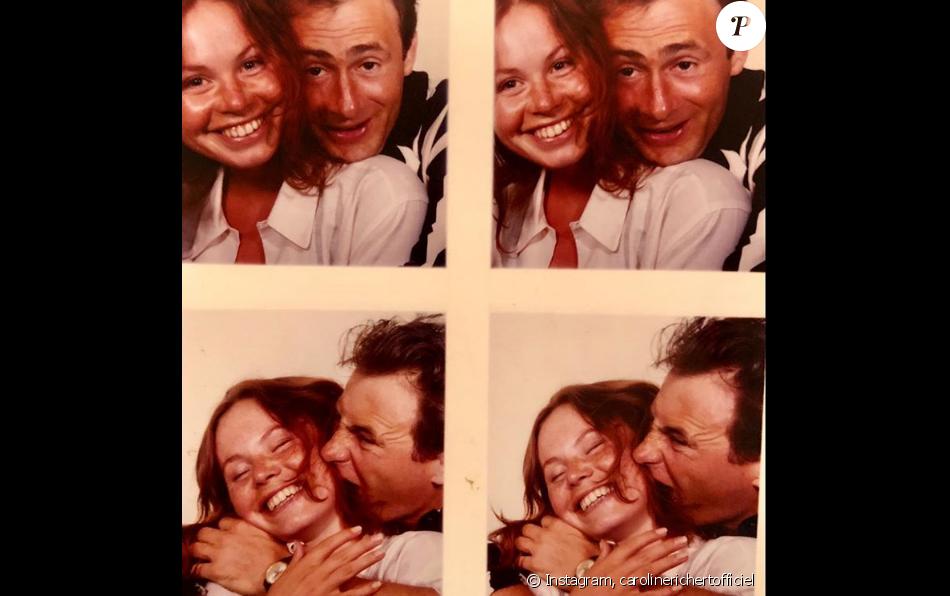 Caroline Richert rend hommage à son défunt mari Daniel Rialet - Instagram, 11 avril 2019