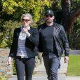 Exclusif - Ben Affleck emmène Lindsay Shookus visiter des maisons le jour de la St Valentin à Brentwood. Le 14 février 2018.