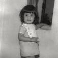 Cristina Cordula enfant au Brésil, un cliché dévoilé le 11 avril 2019.