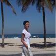 Cristina Cordula au Brésil, le 27 mars 2019.