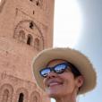 Cristina Cordula à Marrakech, le 12 mars 2019.