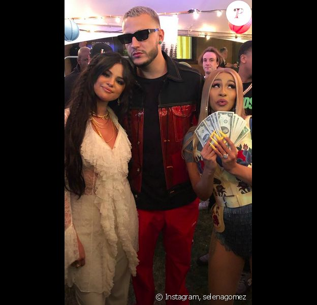 Selena Gomez au festival Coachella en Californie, le 12 avril 2019.