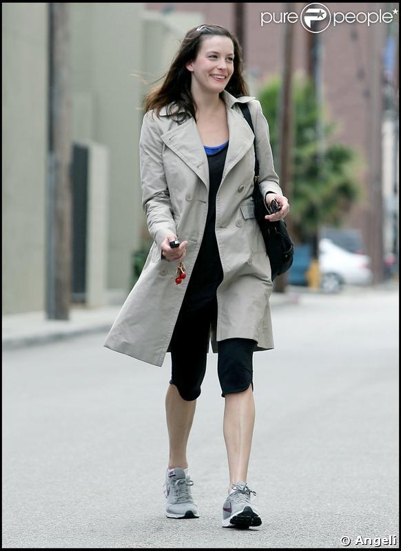 Liv Tyler à la sortie de sa séance de sport hier à Los Angeles