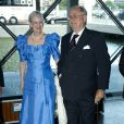 La reine Margrethe II de Danemark et le prince Henrik, le jour de son 75e anniversaire