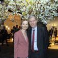 Exclusif - Mr et Mme Jean Beunardeau, lors de la soirée HSBC au salon PAD (Paris Art Design) à Paris le 2 avril 2019. © Julio Piatti / Bestimage