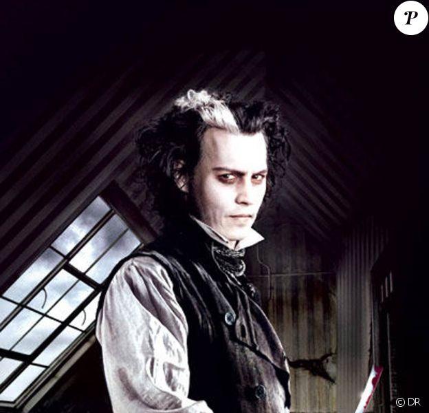 """Johnny Depp au générique de """"Sweeney Todd"""" !"""