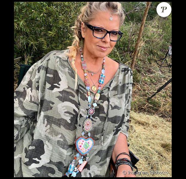 """Laurence Boccolini en tournage pour """"Je suis une célébrité, sortez-moi de là"""" - Instagram, 12 mars 2019"""