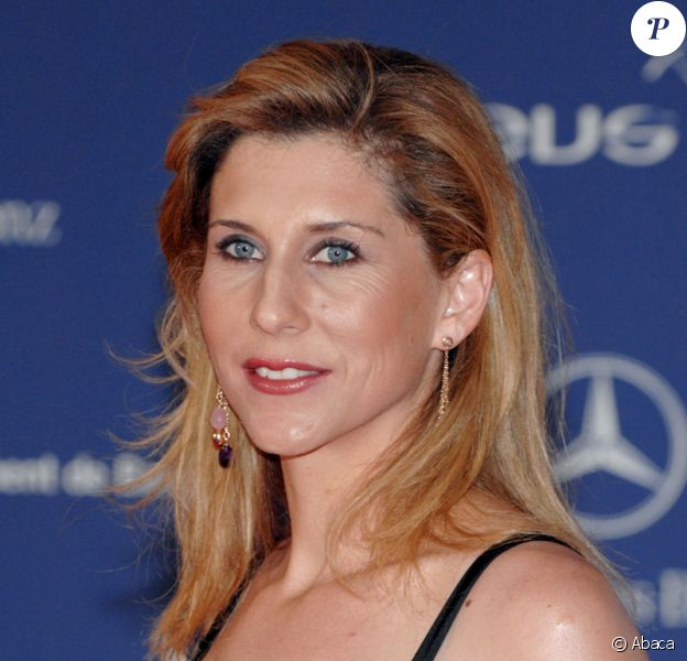 La joueuse de tennis Monica Seles