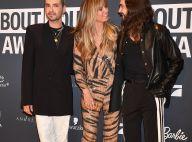 Heidi Klum : Amoureuse et sacrée devant Tom et Bill Kaulitz
