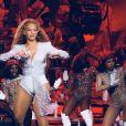 Beyonce en concert au festival de Coachella. Le 21 avril 2018.