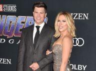 """Scarlett Johansson et Colin Jost amoureux à la première d'""""Avengers: Endgame"""""""