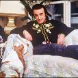 Dick Rivers chez lui en 1988.