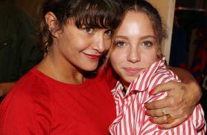 Emma de Caunes et sa fille Nina : selfie