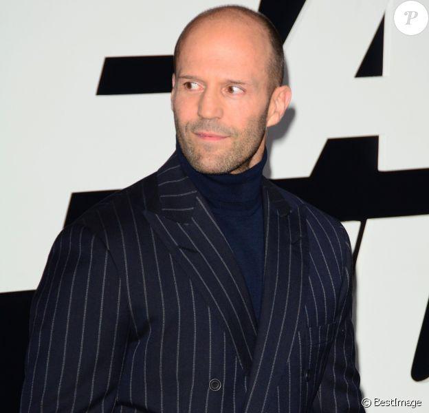 Jason Statham à la première du film 'Fate Of The Furious' à New York, le 8 avril 2017