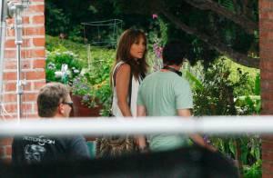 Une Jennifer Lopez toujours en tournage et... toujours aussi amincie et canon !