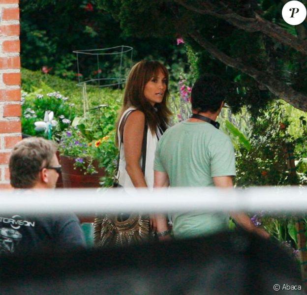 Jennifer Lopez en plein tournage de son nouveau film à Los Angeles !