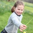 Nouveaux portraits signés Kate Middleton pour les 4 ans de sa fille Charlotte, le 2 mai 2019.