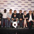 L'équipe du film pour la promotion au Grand Rex à Paris du film Tellement Proches le 14 juin 2009