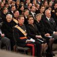 Obsèques du grand-duc Jean de Luxembourg en la cathédrale Notre-Dame de Luxembourg le 4 mai 2019.