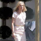 Joely Richardson sur le tournage pour Nip/Tuck, encore triste comme sa mère Vanessa Redgrave...