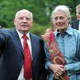 Mikhaïl Gorbatchev et  Vanessa Redgrave lors du gala de la fondation Gorbatchev à Londres le 6 juin 2009