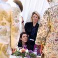 Charlotte Casiraghi et le jury du 34ème édition du festival de Mode, de Photographie et d'Accessoires de mode de Hyères assistent aux présentations des créateurs finalistes. Hyères, le 26 avril 2019. © Dominique Jacovides/Bestimage
