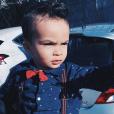 Noevan, le fils de Shake - Instagram, mars 2019