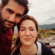 """Florian de """"Pékin Express 2018 : La Course infernale"""" présente sa compagne, Jenn, sur Instagram. Août 2018."""