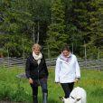 Madeleine et sa grande soeur Victoria de Suède en visite dans le comté de Gavleborg