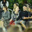 Riley Keough, Sophie Turner, Joe Jonas et Willow Smith - Défilé Louis Vuitton, collection croisière 2020 au TWA Flight Center, à l'aéroport JFK. New York, le 8 mai 2019.