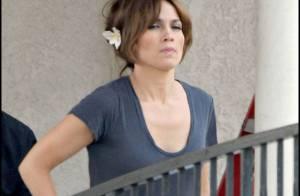 Oups ! Jennifer Lopez n'a pas l'air de bonne humeur...