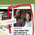 Story Instagram, le 13 mai 2019, du chaman Durek, relayant des articles de la presse scandinave sur son histoire d'amour avec la princesse Märtha-Louise de Norvège, officialisée la veille.