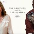 La princesse Märtha-Louise de Norvège et le chaman Durek, capture d'écran de leur site The Princess and the Shaman.