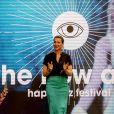 La princesse Märtha-Louise de Norvège à Zaandam aux Pays-Bas le 11 mai 2019 lors du Happinez Festival, un festival dédié au développement personnel et au bonheur.