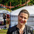 La princesse Märtha-Louise de Norvège à Zaandam aux Pays-Bas le 11 mai 2019 lors du Happinez Festival, un festival dédié à l'épanouissement personnel et au bonheur.